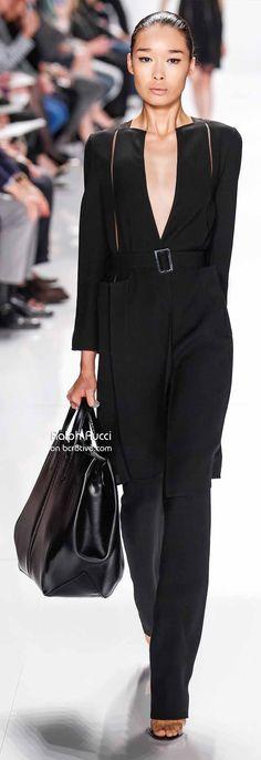 Ralph Rucci Spring 2014 New York Fashion Week   cynthia reccord