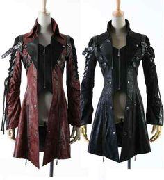 New Punk Rave Gothic Vampire Heavy Metal Jacket Coat Y349 All Stock in Australia   eBay