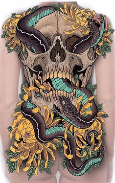 New upcoming clients sleeve design, can't wait to start this one Neo Tattoo, Snake Tattoo, Chest Tattoo, Japanese Tattoo Art, Japanese Tattoo Designs, Tattoo Sketches, Tattoo Drawings, Japan Tattoo Design, Hanya Tattoo