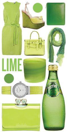 Limettengrün - die Farbe mit Statement! (Farbpassnummer 26) Kerstin Tomancok Farb-, Typ-, Stil & Imageberatung