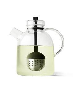 Modern Glass Tea Kettle with Filter
