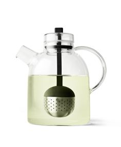 Modern Glass #Tea Kettle with Filter