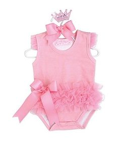 ballerina onesie with ruffles....so cute in multiple colors or other colors than pink