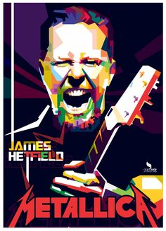 James Hetfield METALLICA -WPAP