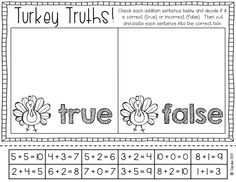 Practice addition to 10! {Just Print It! November}