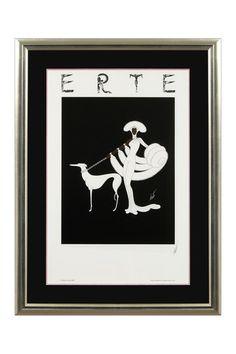 Ebony in White Fine Art Poster by the Erte (1892-1990)