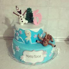Frozen cake olaf sven