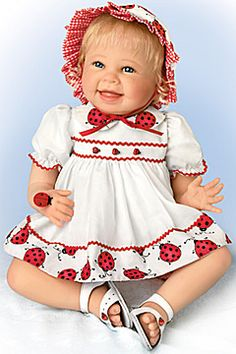 Tiny Tickles doll