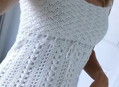 Free Crochet Patterns Sleeveless Tops : Gorgeous Free crochet pattern for ladies top - saw this on ...