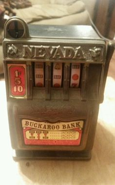 nevada buckaroo bank slot machine value