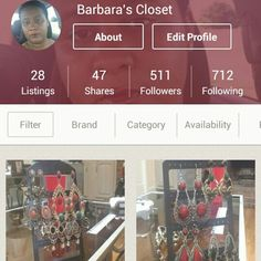 Shop my closet on Poshmark! My username is rekjewelry. Join with code: PBOGB for a $5 credit! #poshmark #fashion #shopping