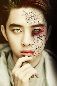 tumblr_nd500wP8FB1rw4a6qo1_r3_500.gif (500×750) Halloween EXO- Do Kyungrudge