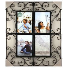 Fashion Andruzy Scroll Corners Picture Frame
