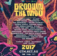 Groovin The Moo line up for 2017