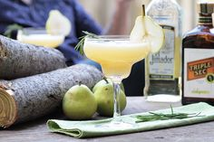#Margarita à la #poire et au #romarin. Vive l'été! #cocktail