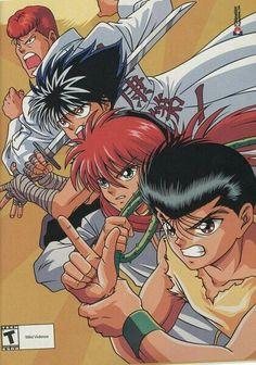 Yu Yu Hakusho, Yoshihiro Togashi, Animes