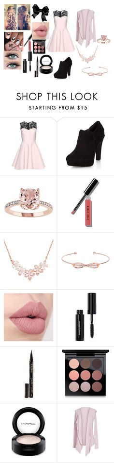 """""""looking for pink or formal wear?"""" by brittanycrosby on Polyvore featuring Chicnova Fashion, New Look, Bobbi Brown Cosmetics, Ted Baker, Smith & Cult, MAC Cosmetics and Velvet by Graham & Spencer"""