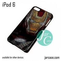 Typography ironman iPod Case For iPod 5 and iPod 6