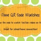 Time QR Code Watch