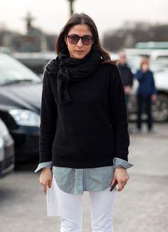 Wardrobe classic: the crewneck sweater | Girls of a Certain Age | Bloglovin'