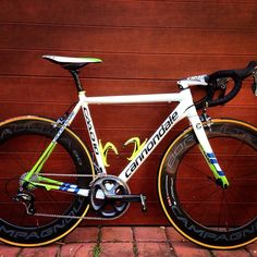 cannondale caad10 with campagnolo deep section wheels
