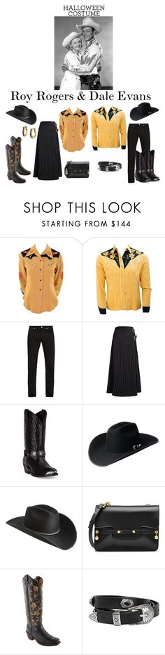"""""""Roy Rogers & Dale Evans"""" by horcal ❤ liked on Polyvore featuring Givenchy, Toga, Laredo, Bailey Western, RED Valentino, Twisted X Boots, Rust Mood, The Bradford Exchange and halloweencostumes"""