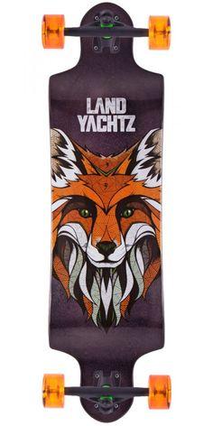 Landyachtz Switch 35 Longboard Skateboard Complete - 2015