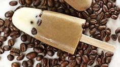 Hjemmelaget iskrem med kaffe og kardemomme