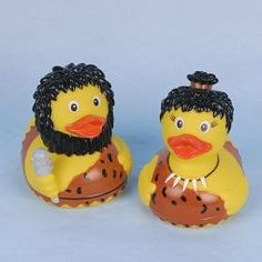 Rubber Duck Stone Age pair