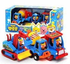 Pororo Heavy Equipment Play Toy Car by Pororo. $19.99