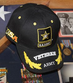 63c1dc4bd8b Officially Licensed United States Army Veteran Hat