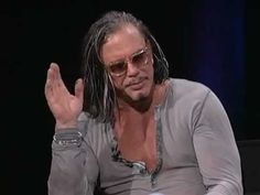 Inside The Actors Studio - Mickey Rourke  i didnt know all this about him.  He. Is. Amazing!!
