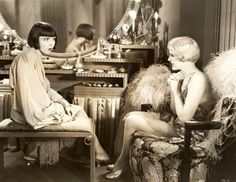 Footlights and Fools (1929) Colleen Moore and Virginia Lee Corbin