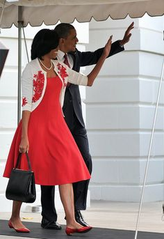 Michelle Obama in Michael Kors. This woman can do no wrong in my eyes when it comes to fashion