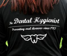 Love the angel wings. :) RDH Dental Hygienist Hoodie