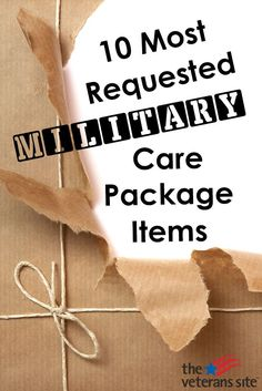 The Most Requested Items For Military Care Packages