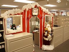 decorating office for christmas. Incredible Christmas Decor Ideas For Your Offices \u2014 Fres Hoom Decorating Office