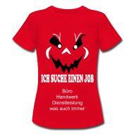 T-Shirts ~ Frauen T-Shirt klassisch ~ Der andere Weg zum Job-Frau