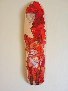 Fox Skateboard by Matthew Paris