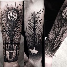 Yay! Work by @brunosantostattoo  Follow & hashtag #Yaytattoos to become a featured artist!  OUR THEME THIS WEEK IS TREES. Tag us in your tree tattoos to be featured this week.