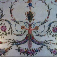 Villa Rothschild wall painting Villa, Ornaments, Painting, Furniture, Art, Art Background, Painting Art, Kunst, Paintings