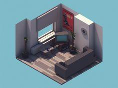 Living Room https://dribbble.com/shots/1517430-Living-Room?list=users&offset=0
