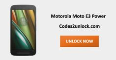 How to Carrier Unlock your Motorola Moto E3 Power by Unlock Code so you can use with another Sim Card or GSM Network. Unlock your Motorola Moto E3 Power fast & secure with the lowest price guaranteed. Quick and easy Motorola Unlocking with step by step Unlocking Instructions.
