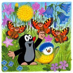 Hoe een klein molletje weer geniet van de zon, van kindjes, vriendjes en het leven. Welkom back!