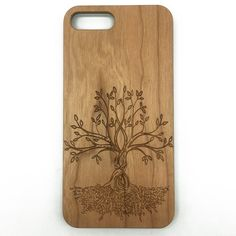 Tree of Life Wooden Wood Phone Cover for iPhone & Samsung   jiacase