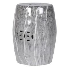 White Ceramic Matador Stool / Drum Table   Products Available From Mulberry  Moon X   Pinterest   Drum Table, White Ceramics And Stools