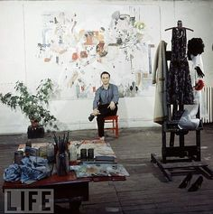 artists in their studios - Larry Rivers Google Search