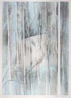 Arthur Boyd, Australia (1920-1999) • Shoalhaven Bush •  Lithograph • Gift of Dr B. Roberts 1981 •1981.032 #ArthurBoyd #lithograph #printart Arthur Boyd, Asian Art, Contemporary Art, Australia, Art Prints, Gallery, Creative, Artist, Painting