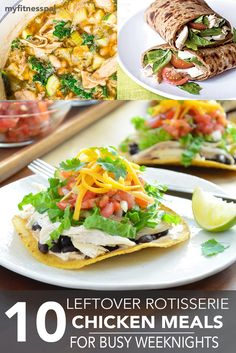 Picking up a rotisserie chicken on our way home from work is a convenient and budget-friendly way to simplify home cooking. If you find yourself with leftover chicken the next day you're halfway there to another homemade meal. Whether you're using it as a taco filling, salad topping or simply as an ingredient, cooked chicken …