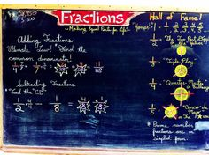 Waldorf ~ 4th grade ~ Fractions